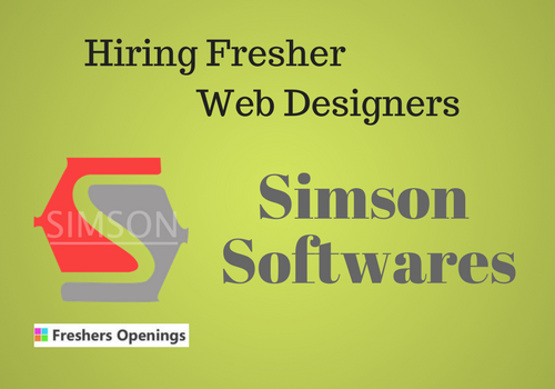 Jobs For Web Designers Freshers In Hyderabad