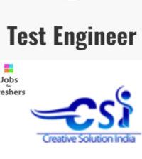 Testing Engineer